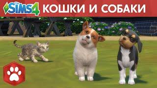 Официальный трейлер «The Sims 4 Кошки и собаки»
