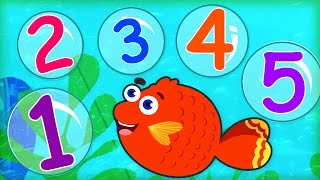 12345 Once I Caught A Fish Alive | Kid Songs With Lyrics | Kids Rhymes by Captain Discovery