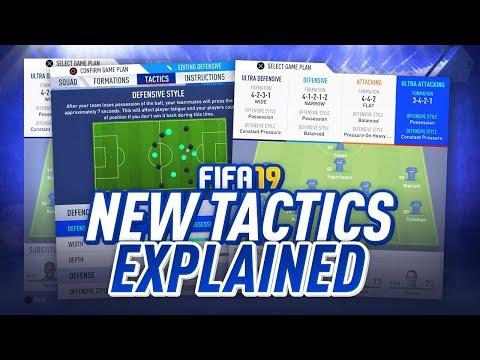 FIFA 19 Dynamic Tactics explained - Futhead How To