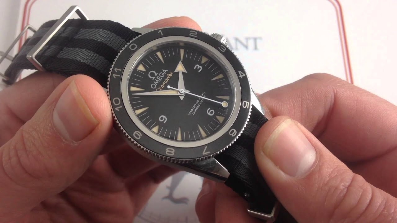 Omega Seamaster 300 Spectre Limited Edition Luxury Watch