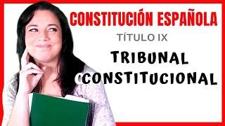 Tribunal Constitucional CONSTITUCIÓN ESPAÑOLA - TÍTULO IX 📚 15 2017 Video