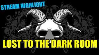 Binding of Isaac Rebirth: The Lost to the Dark Room... DONE