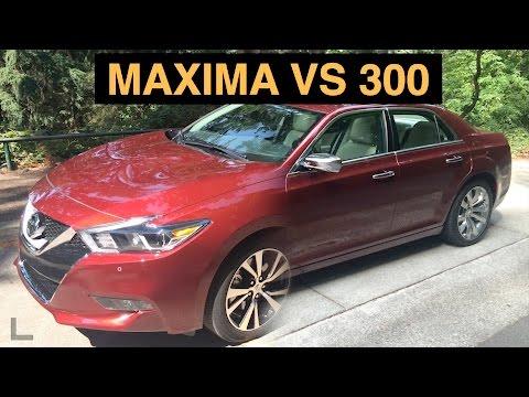 2016 Nissan Maxima vs 2015 Chrysler 300 - Full Size Showdown