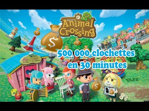 Thumbnail: Gagner 500 000 Clochettes en 30 minutes dans Animal Crossing New Leaf ! (3DS XL)