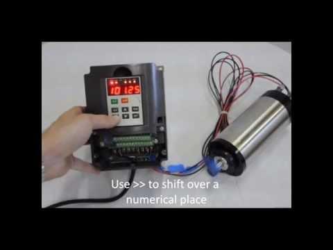 ,110VAC input 1.5KW VFD Spindle Inverter KL-VFD15