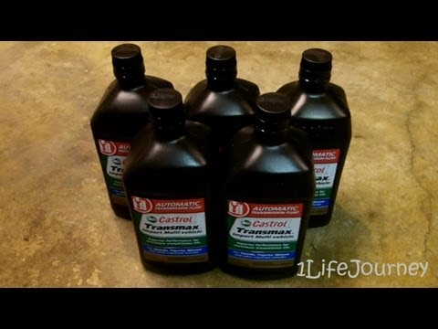 04-07 Toyota Sienna Transmission Fluid Drain and Fill - How to