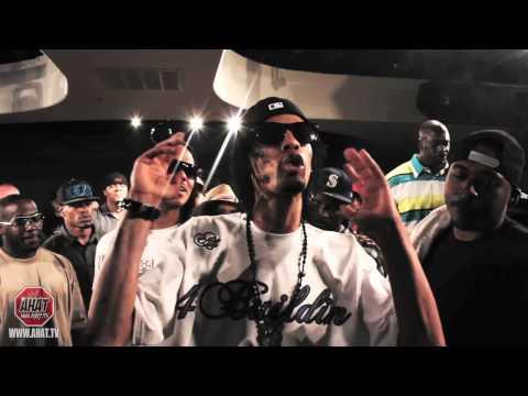 AHAT - rap battle - Juice vs AK (Los Angeles vs Brooklyn)