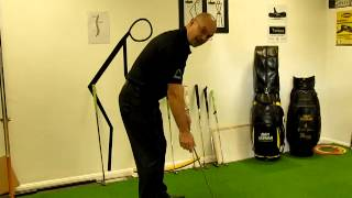 Golf Putting Myth1 - Eyes Over Ball