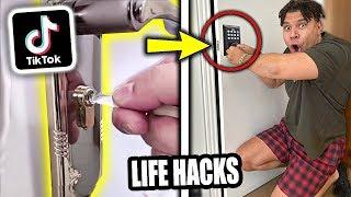 We TESTED Viral TikTok Life Hacks... **OMG SHOCKING** (PART 13)