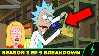 """Rick and Morty BREAKDOWN - 3x09 """"ABC"""