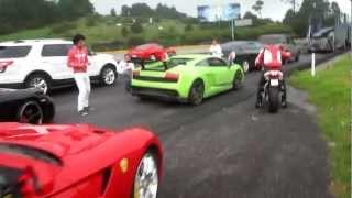 Lamborghini Murcielago, Gallardo, SLR, Ferrari & mas... En México-Cuernavaca