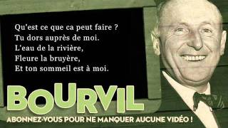 Bourvil - Ballade irlandaise - Paroles (Lyrics)