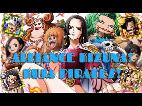 [OPTC] ALLIANCE KIZUNA KUJA PIRATES! First Global Alliance Kizuna! Team Builds for 10* Event!