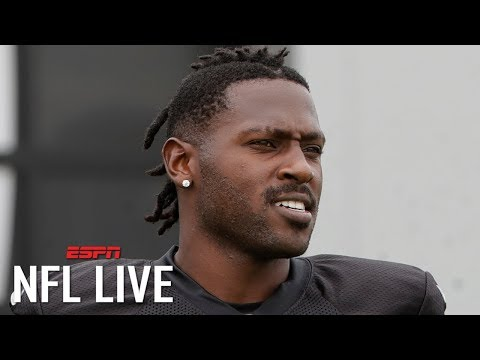 Antonio Brown responds to $54K fines from the Raiders: 'When your own team want to hate'   NFL Live