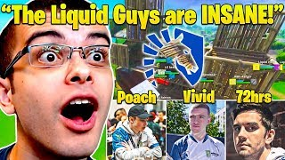 Nick Eh 30 GOES CRAZY as Team Liquid Players DESTROY ALL Pros! Fall Skirmish Week 5 Highlights