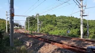 【プチ動画】特急あやめ祭り257系 通過