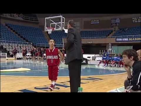 "4'9"" Basketball Star Malcolm Reid (David Schroeder Report)"