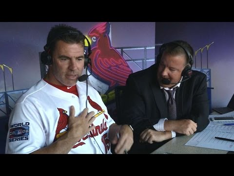 Edmonds on his shape, Cardinals 2006 season