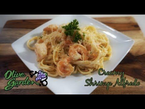 Olive Garden Creamy Shrimp Alfredo | COPYCAT RESTAURANT RECIPES
