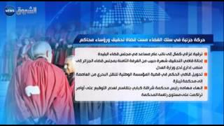 حركة جزئية في سلك القضاء مست قضاة تحقيق ورؤساء محاكم