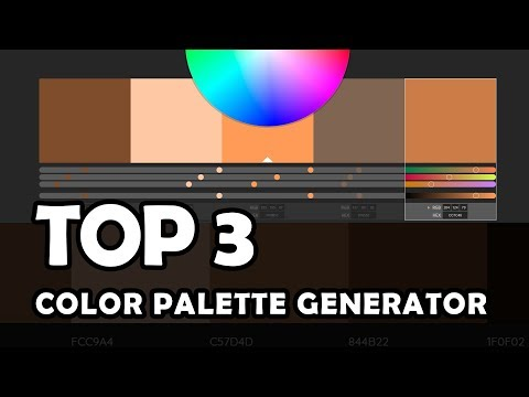 Top 3 Websites: Color Palette Generator (Color Scheme)