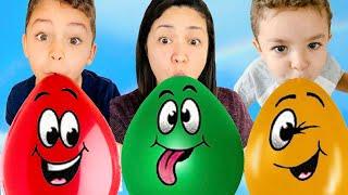 Balloon Song! Nursery Rhymes Songs for kids - Caletha Playtime