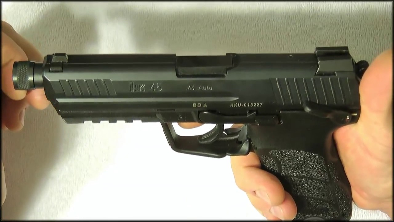 HK45 tactical Range Review 100 Rounds!
