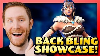 Fyra Back Bling Showcase! New Fortnite Skin With Different Combos!