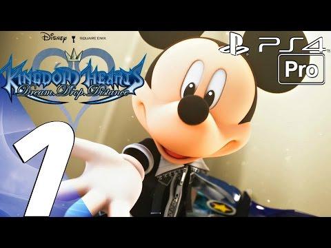 Kingdom Hearts Dream Drop Distance HD - Gameplay Walkthrough Part 1 - Prologue (PS4 PRO) KH 2.8