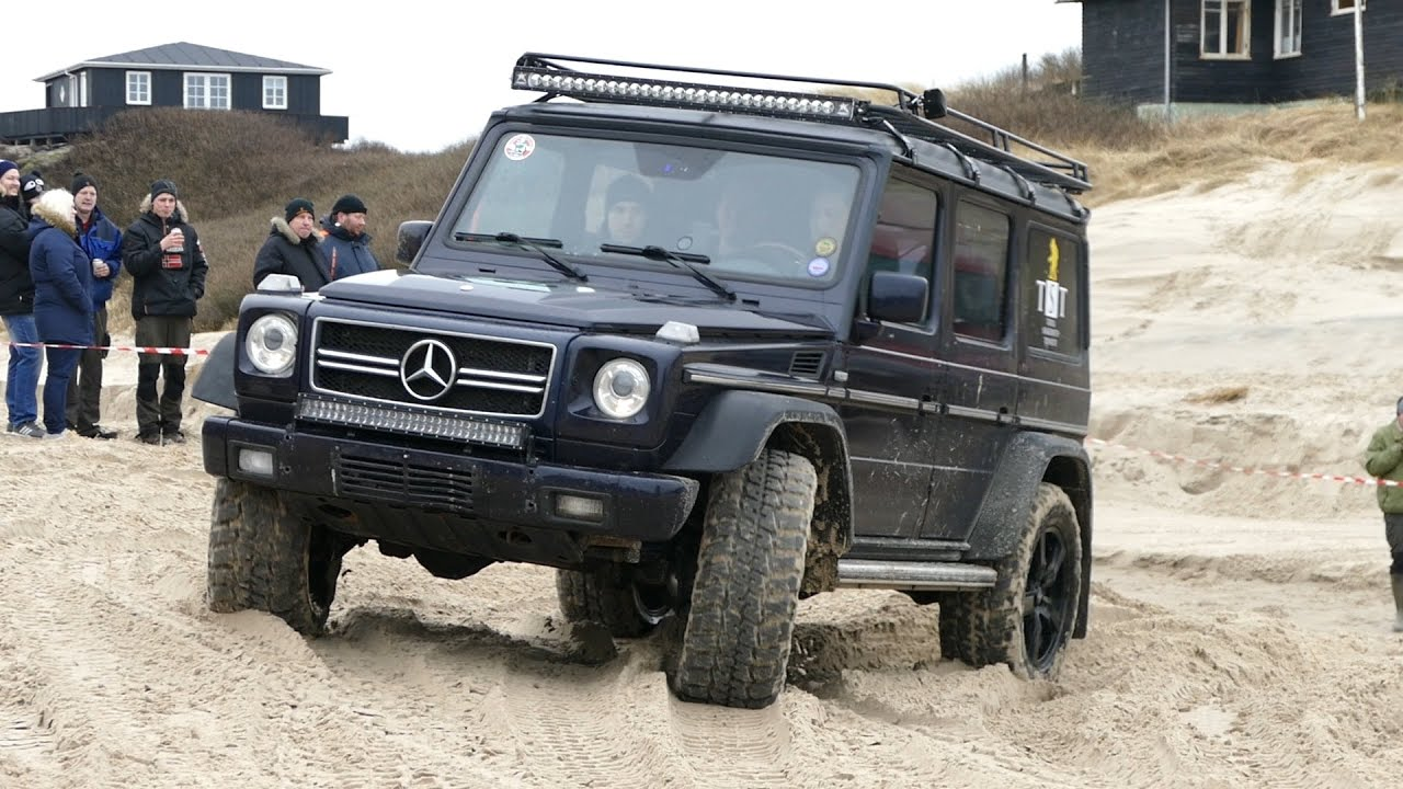 Mercedes benz g class g400 4x4 off road l kken beach for Mercedes benz g class 4x4
