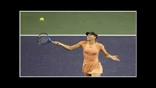 Tennis - An afterthought coming in, Maria Sharapova exits Indian Wells quietly