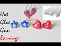 DIY Hot Glue Gun Earrings Lockets Valentine s Day Gifts