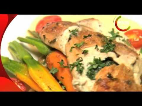 Spinach and Blue Cheese stuffed Chicken Breast - Chris Saleem
