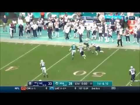 Miami Dolphins Miracle vs Patriots