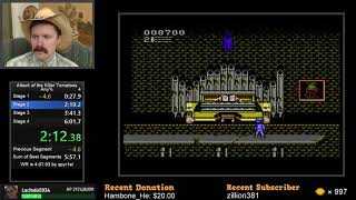 Attack of the KiĮler Tomatoes NES speedrun in 4:41 by Arcus