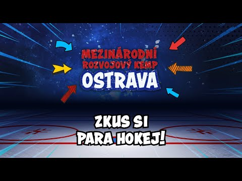 Zkus si para hokej! // Want to try out para hockey?