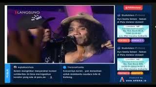 SLANK - TERLALU MANIS || KONSER SOLIDARITAS INDONESIA UNTUK SULTENG LIVE TVRI NASIONAL