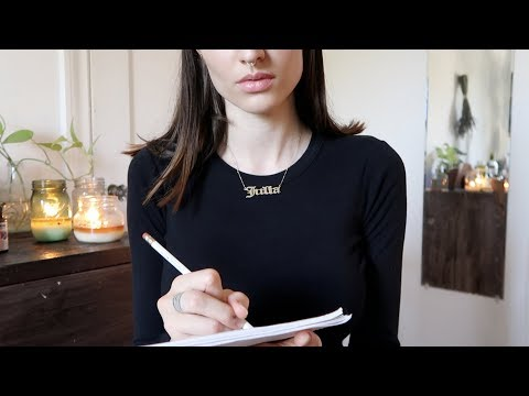 ASMR | Naturopathic doctor consultation & personalized treatment + GIVEAWAY (soft spoken)
