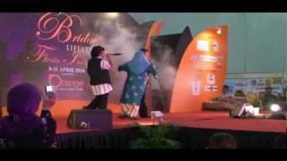 artist undangan   alias kadir maznie dan mak limah , pesta mega dangdut    singapore expo  11 4 2010
