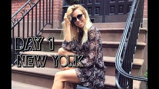 Vlog из New York! Наш первый день в Нью Йорке. Шоппинг   Косметика Glossier