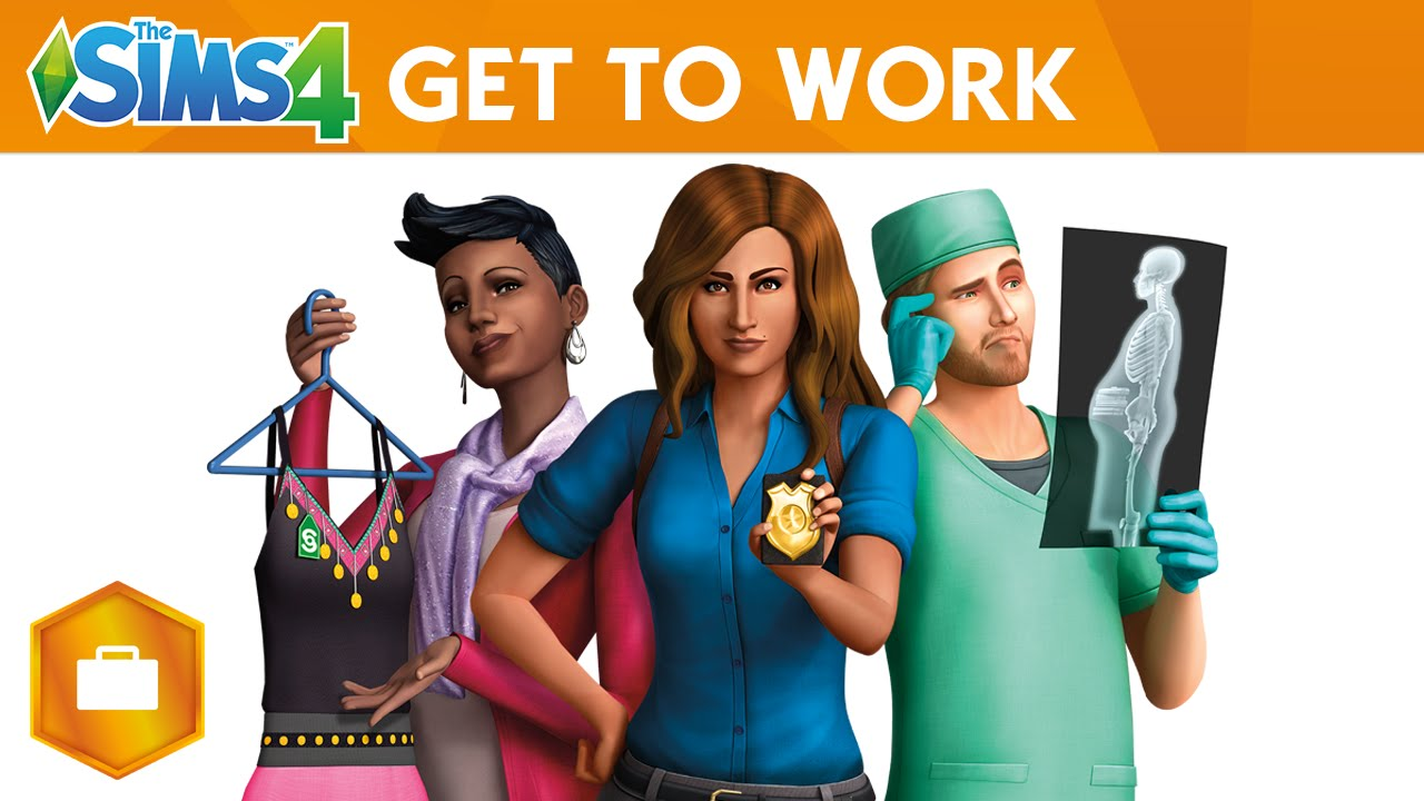 The Sims 4 Get To Work Free Download PC Game