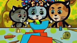 Мультики для малышей - Три котенка - В душе поют снежиночки (3 сезон | серия 9)