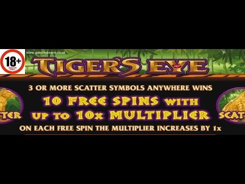 Tiger's Eye Slot | ALL FEATURES + BIG WIN | Microgaming