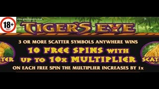 Tiger s Eye slot ALL FEATURES BIG WIN Microgaming