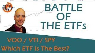 ETF Comparison of VOO, VTI, SPY - Is One The Best ETF?