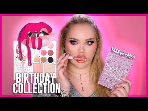KYLIE COSMETICS Birthday Collection - Review & Swatches