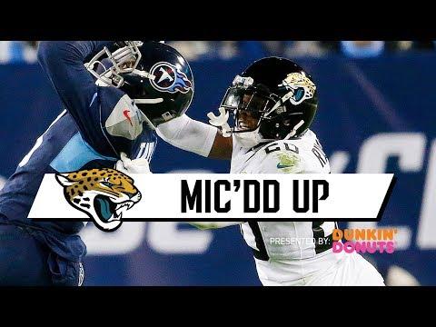 Jalen Ramsey Mic'DD Up vs. Titans (Week 14) | Jacksonville Jaguars