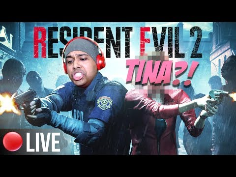 CAN ME AND BABYGIRL MAKE IT OUT ALIVE!??  [RESIDENT EVIL 2] [REMAKE]