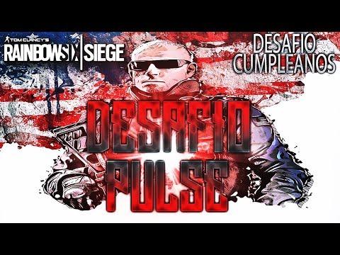 DESAFIO CUMPLEAÑOS PULSE CALVO AMARGADO - DLC BLOOD ORCHID - Rainbow Six Siege Gameplay Español