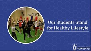Our students stand for healthy lifestyle